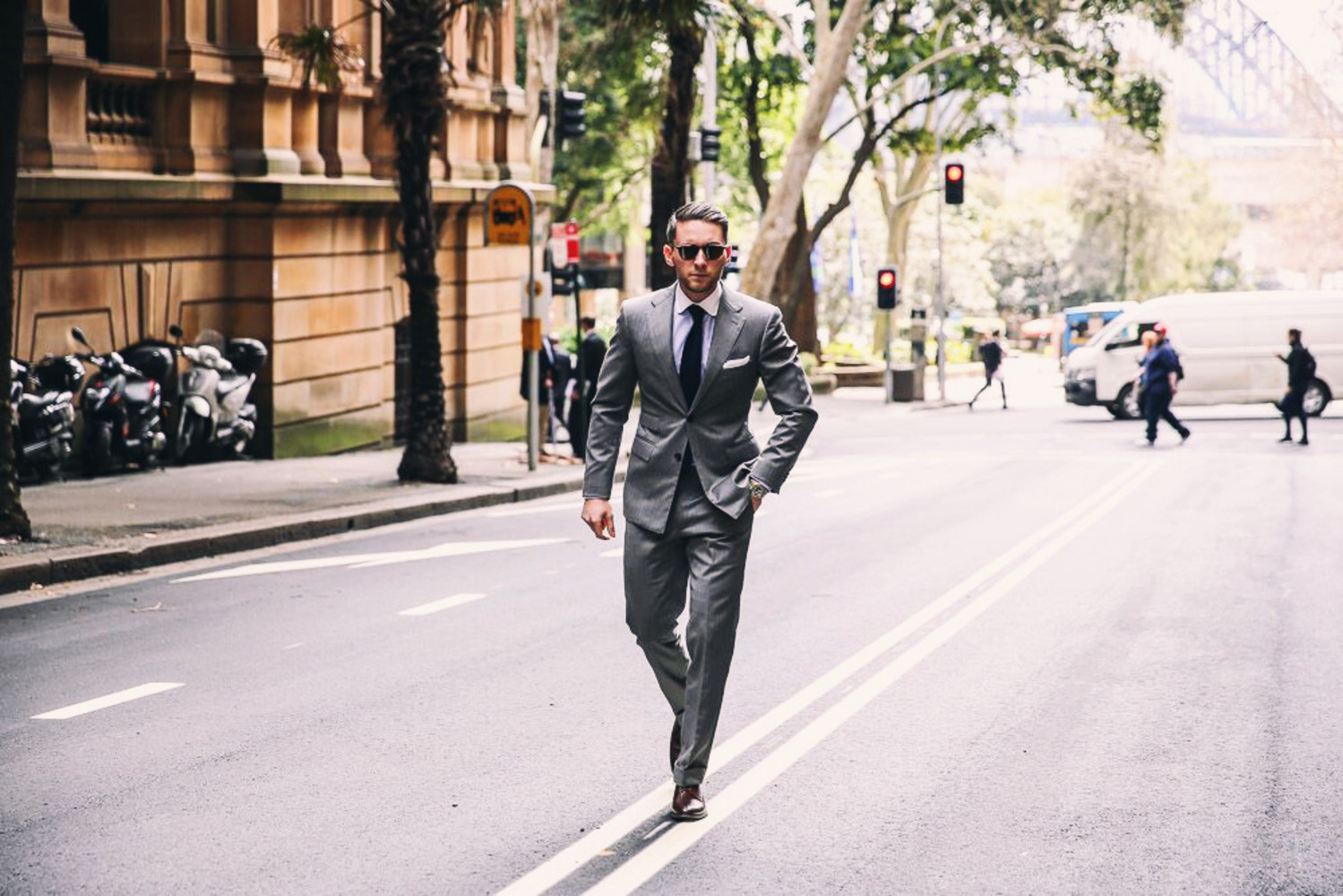 Mens Fashion Blogger | Easy Ways To Sharpen Your Business Suit Style